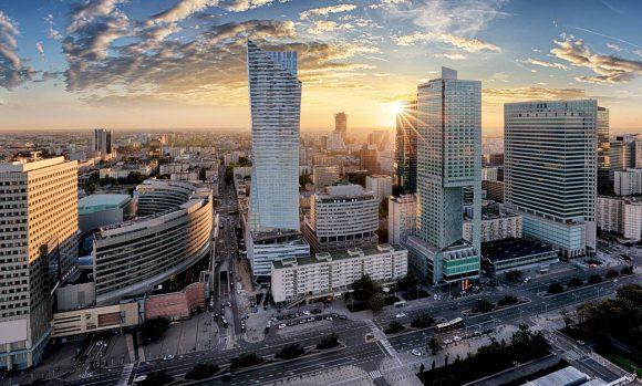 biurowce w Warszawie
