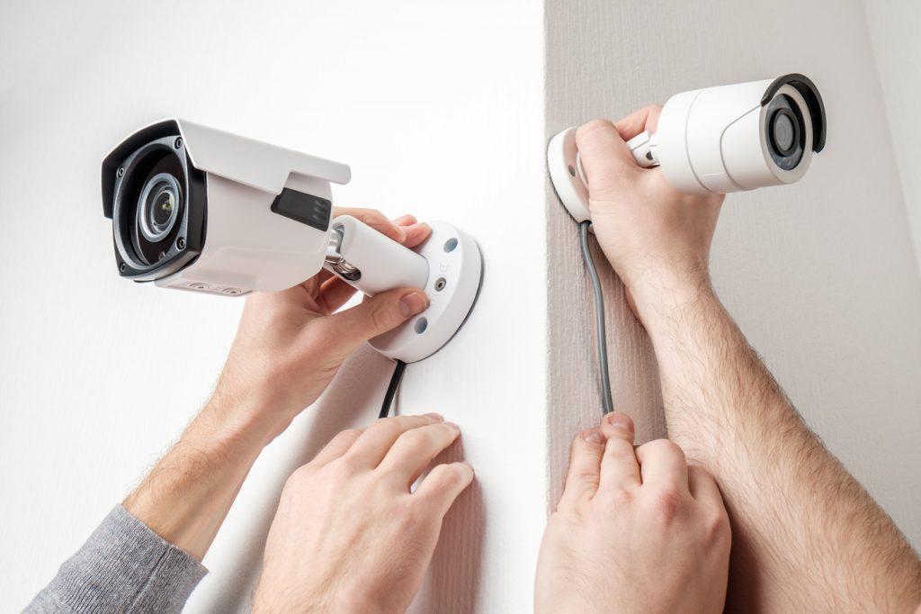 montaż kamery