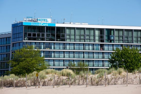 Hotel Marine nad morzem