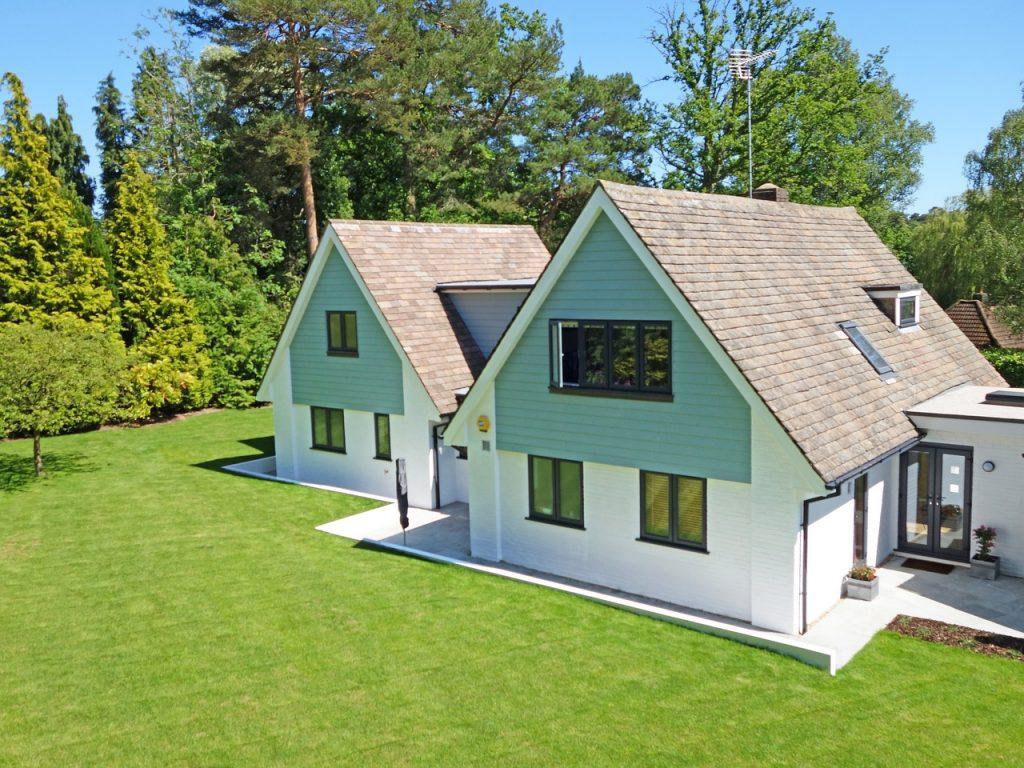 domki z ogródkiem