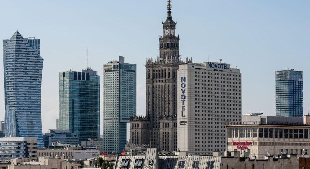 wieżowce w Warszawie