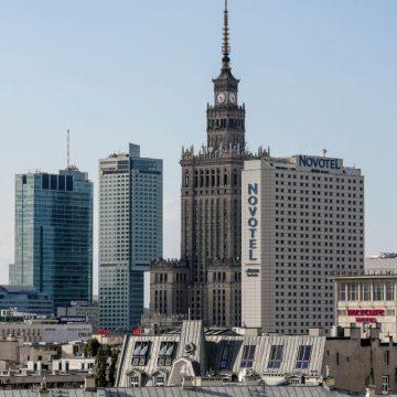 Kompleks Varso z najwyższym budynkiem w Polsce